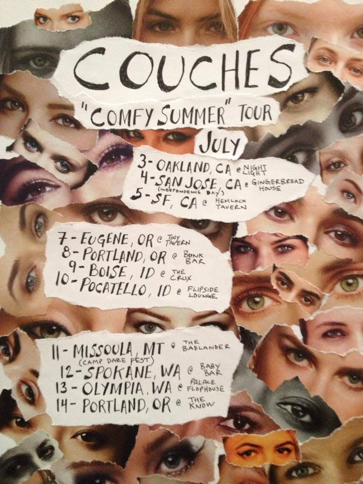 Couches – Comfy Summer Tour