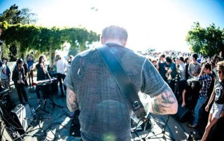 John Dwyer of Thee Oh Sees at Phono del Sol 2013