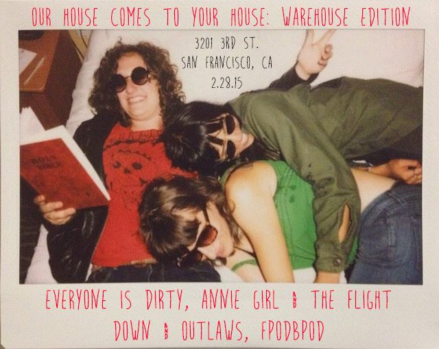 Our House Warehouse Show Poster (Original)