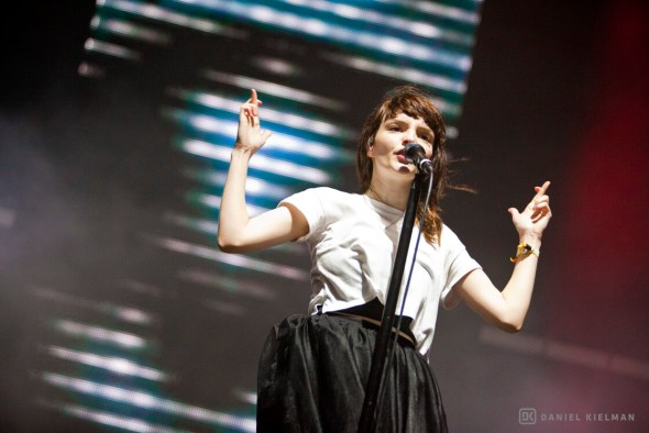 CHVRCHES at 2015 Treasure Island Music Festival, by Daniel Kielman