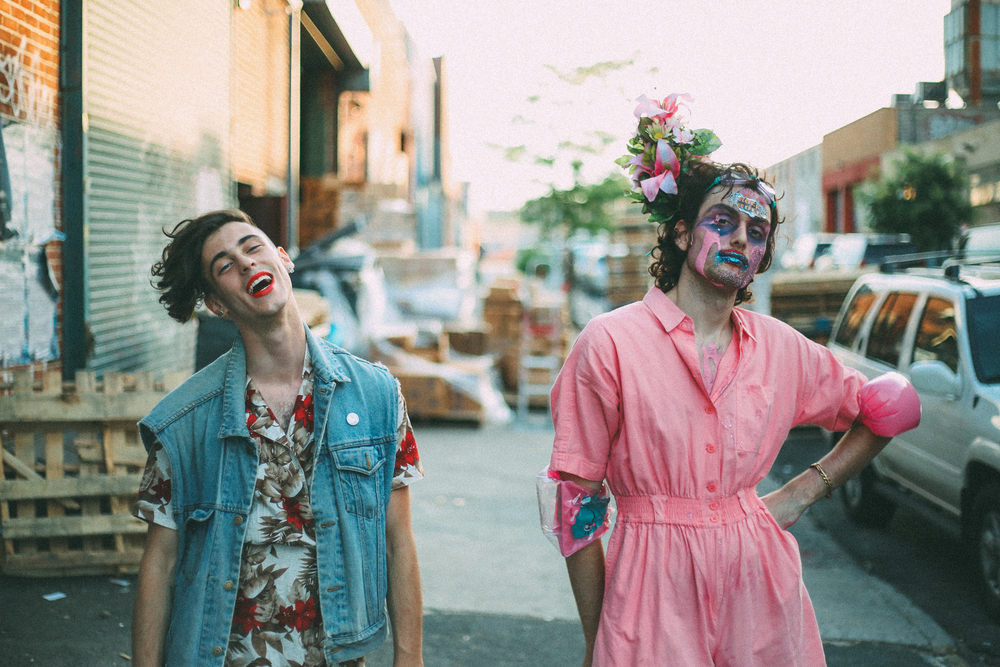 Liv and Ben of PWR BTTM, by Andrew Piccone