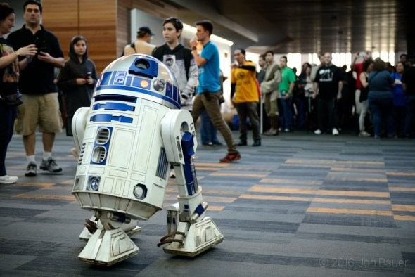 R2D2 Silicon Valley Comic Con at the San Jose Convention Center, by Jon Bauer