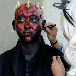 Darth Maul Silicon Valley Comic Con at the San Jose Convention Center, by Jon Bauer