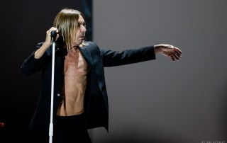 Iggy Pop at The Masonic, by Ian Young