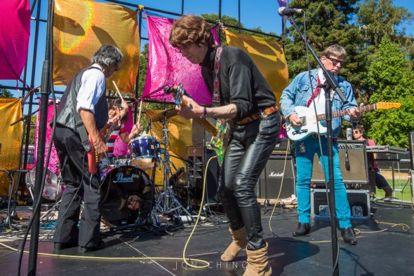 Flamin' Groovies at Burger Boogaloo, by Jon Ching