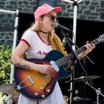 Ashley Allred at the Railroad Square Music Festival, by Estefany Gonzalez