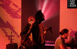 Edward Sharpe and The Magnetic Zeros at the Greek Theater, by Joshua Huver
