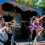 Oddjob Ensemble at the Railroad Square Music Festival, by Estefany Gonzalez
