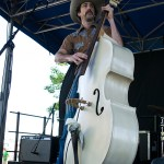 The Easy Leaves at the Railroad Square Music Festival, by Estefany Gonzalez