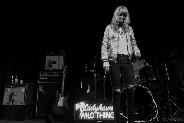 Ladyhawke at The Independent, by Ian Young
