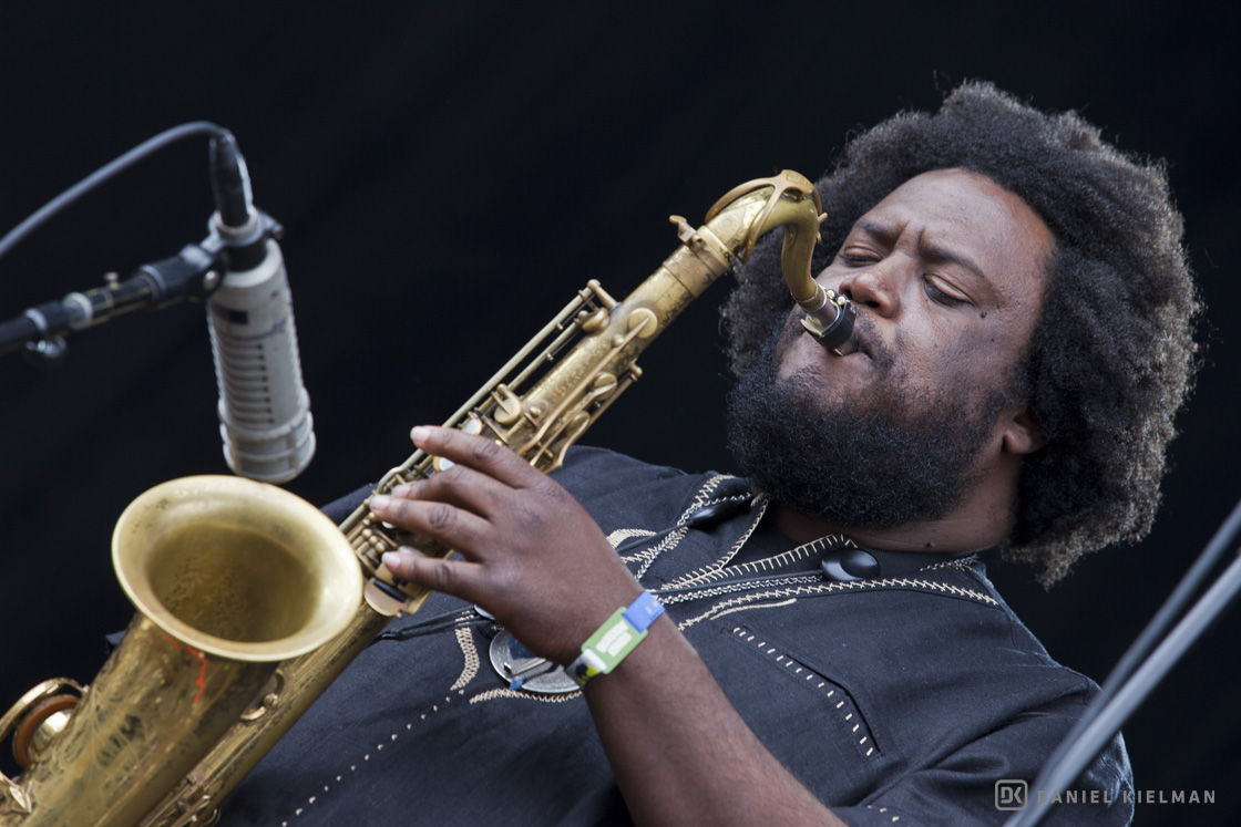 Kamasi Washington at the Outside Lands Music Festival 2016, by Daniel Kielman