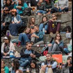 Crowd at the Stern Grove Festival, by Patric Carver