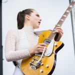 Sofi Tukker at Treasure Island Music Festival 2016, by Jon Ching