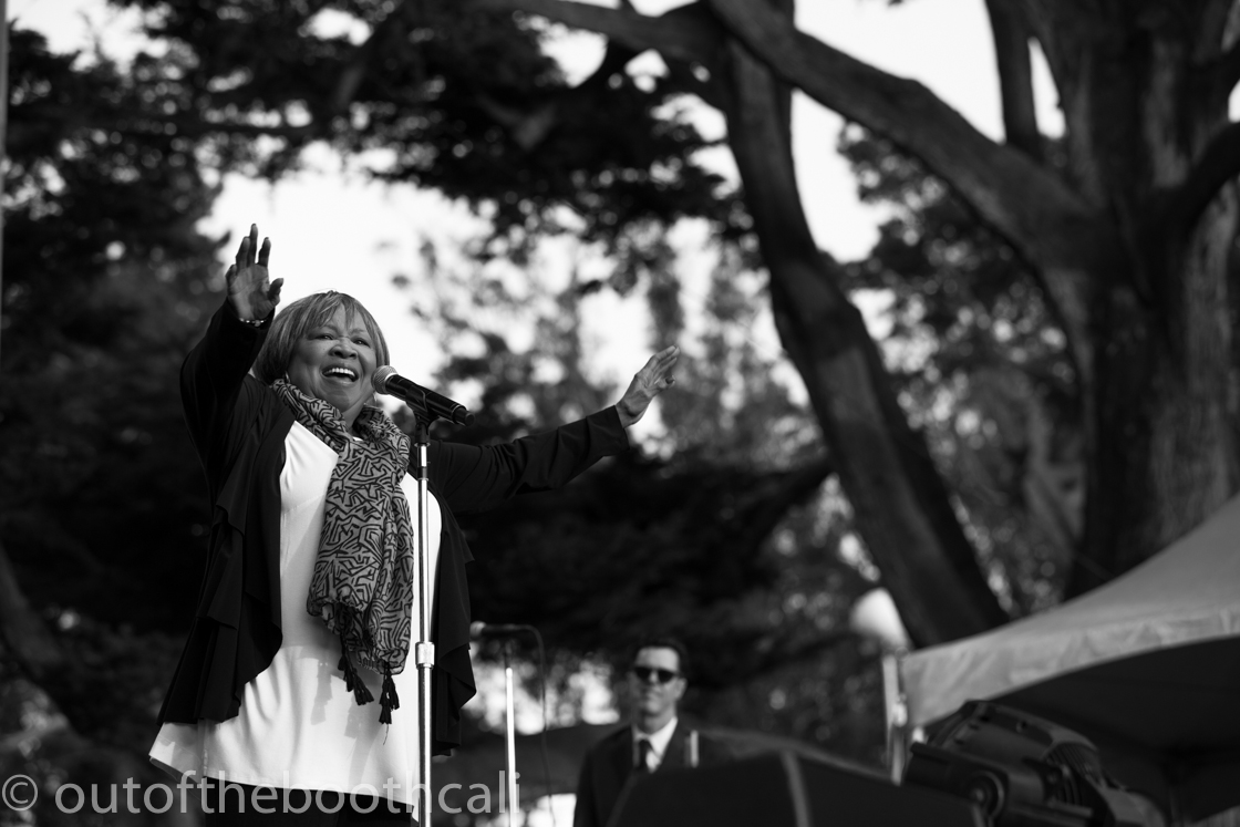 Mavis Staples at Hardly Strictly Bluegrass 2016, by Ria Burman
