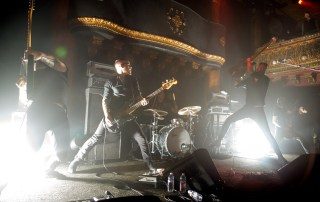 Caspian at the Great American Music Hall, by Estefany Gonzalez