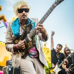King Khan and the Shrines at Burger Boogaloo 2016, by Jon Ching