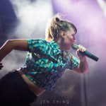 Sylvan Esso at Treasure Island Music Festival 2016, by Jon Ching
