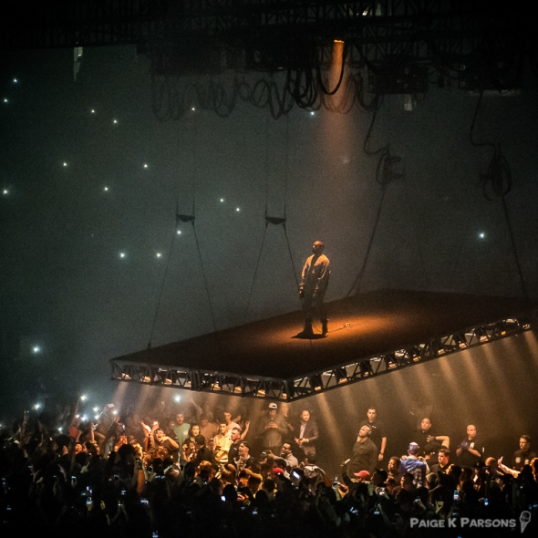 Kanye West at the SAP Center, Best of 2016, by Paige K. Parsons