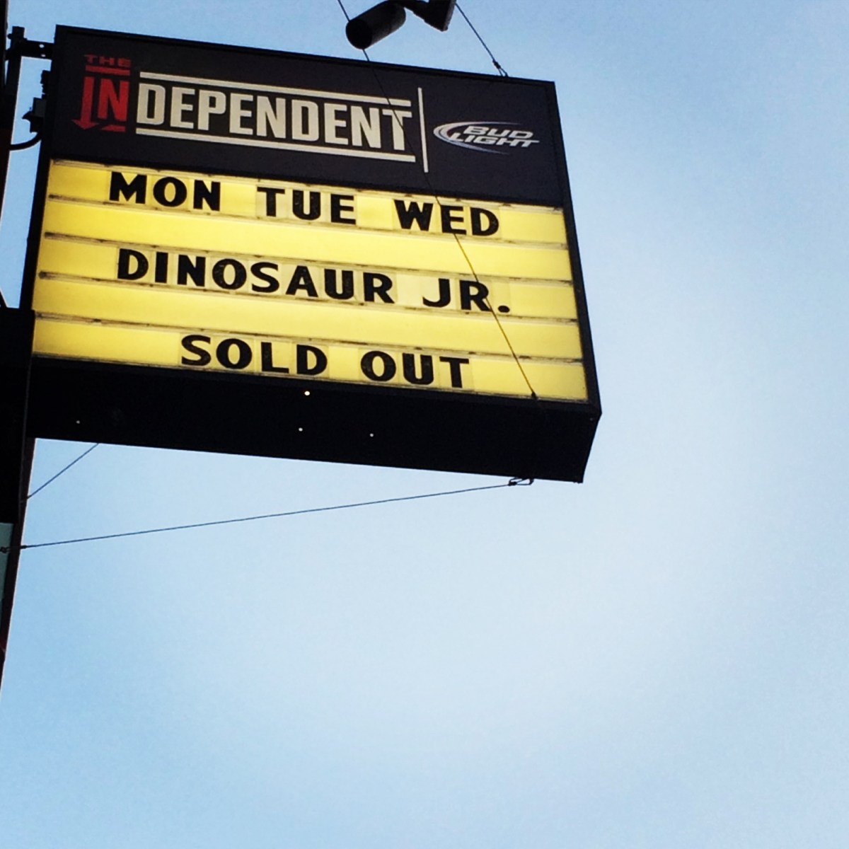 Dino Jr at Independent