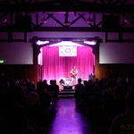 Madeline Kenney at the Swedish American Hall for Noise Pop 2017, by Jon Bauer