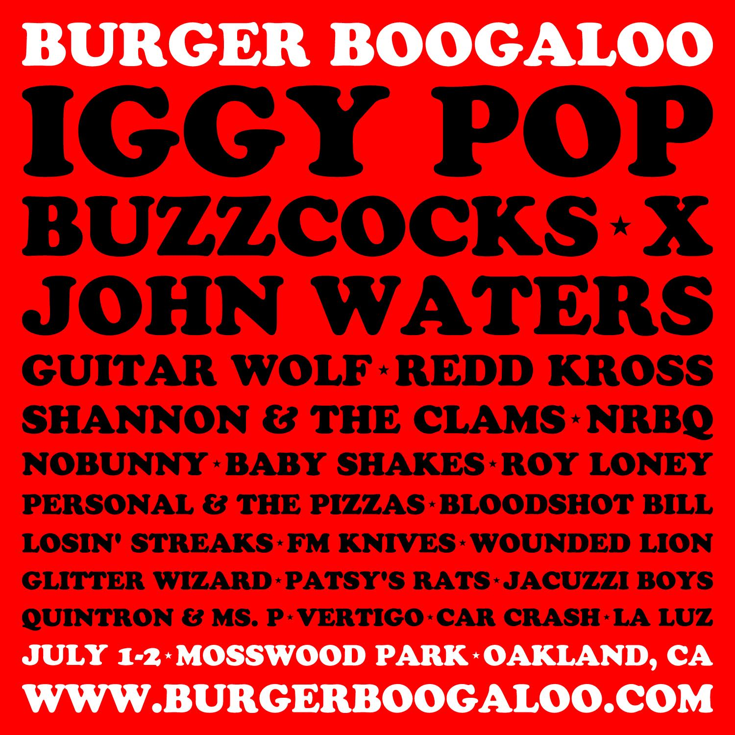 Burger Boogaloo