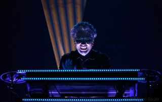 Jean-Michel Jarre at The Greek Theatre, by Jon Bauer