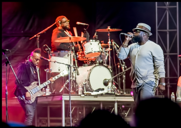 The Roots at BottleRock Napa 2017, by Patric Carver
