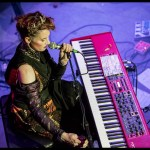 Amanda Palmer and Edward Ka-Spel at the DNA Lounge, by Patric Carver