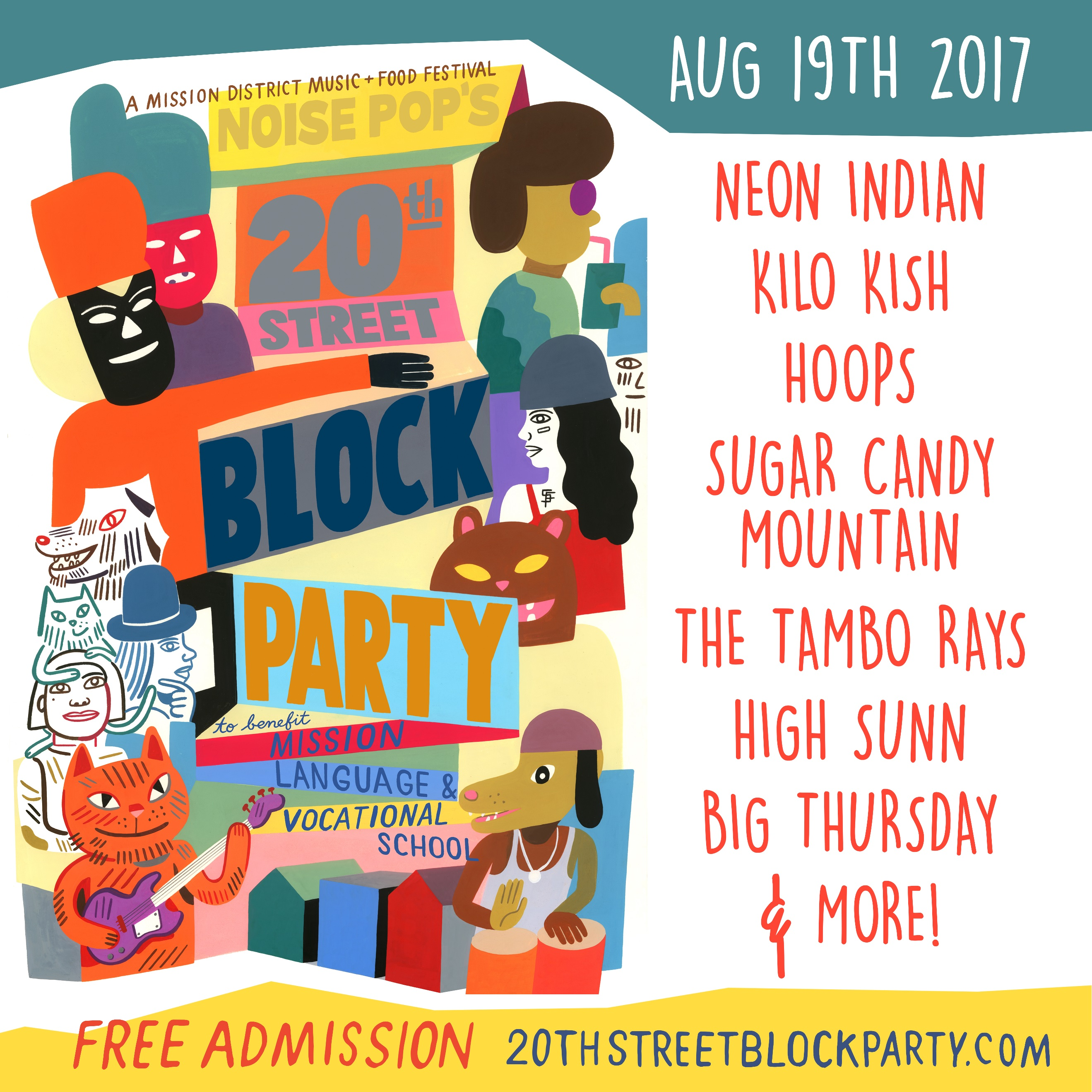 20th st block party
