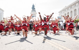 Cheer SF at SF Pride, by Robert Alleyne