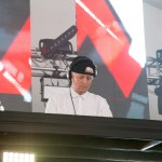 DJ Aaron Axelson at Live 105's BFD, by Estefany Gonzalez