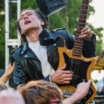 Guitar Wolf at Burger Boogaloo 2017, by Aaron Rubin