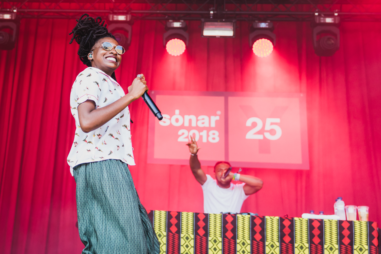 Little Simz at Sonar Barcelona 2018, by Ian Young