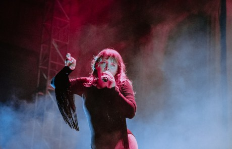 Photos: Sylvan Esso and Kamasi Washington at the Greek Theatre