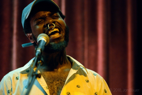 serpentwithfeet at the Swedish American Hall, by Jon Bauer