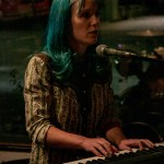Lauren June at The Crepe Place, by Joshua Huver