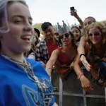Billie Eilish at the Outside Lands Music Festival 2018, by Jon Bauer