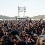 Crowd at the Outside Lands Music Festival 2018, by Jon Bauer