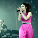 CHVRCHES at the Outside Lands Music Festival 2018, by Jon Bauer