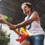 Jeff Rosenstock at the Noise Pop 20th St. Block Party 2018, by Ian Young
