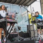 Empress Of at the Noise Pop 20th St. Block Party 2018, by Ian Young