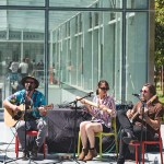 The Silk Road Truckers at Transbay Transit Center Rooftop Garden, by Ria Burman
