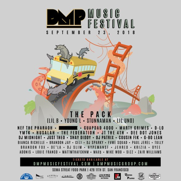 DMP Music Festival reunites Lil B, The Pack, and more at