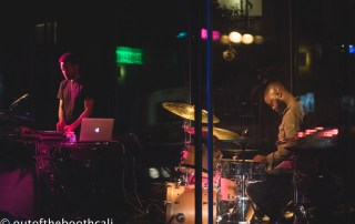 Taylor McFerrin & Marcus Gilmore at SFJAZZ, by Ria Burman