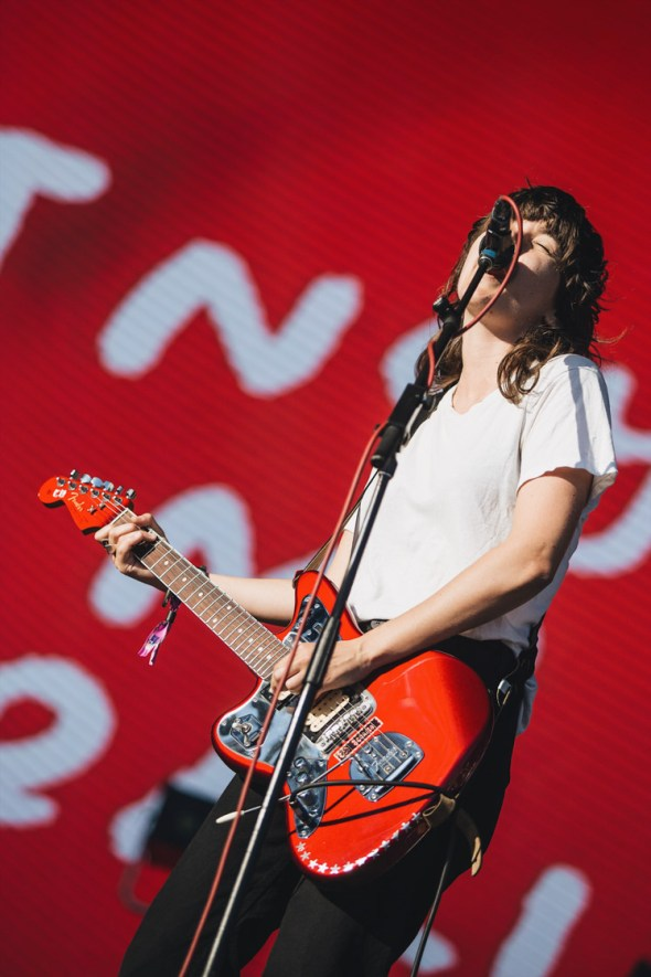Courtney Barnett at Treasure Island Music Festival 2018, by Priscilla Rodriguez
