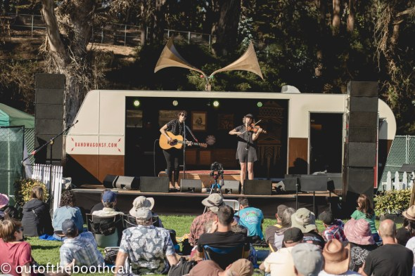 Sera Cahoone at Hardly Strictly Bluegrass 2018 in Golden Gate Park, by Ria Burman