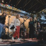 """Live From Here"" with Chris Thile & Gaby Moreno & Sarah Jarosz & Sara Watkins at Hardly Strictly Bluegrass 2018 in Golden Gate Park, by Ria Burman"