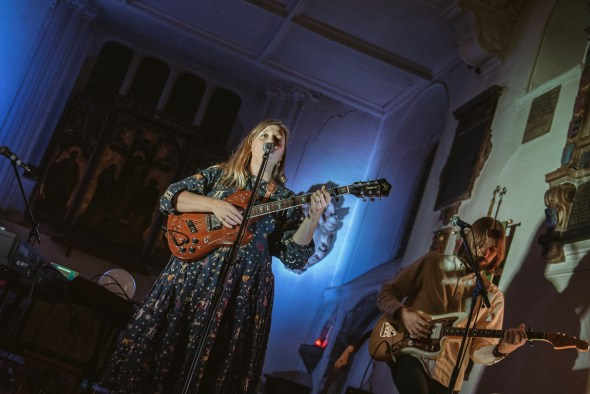Kacey Johansing at St. Pancras Old Church, London, by Robert Alleyne