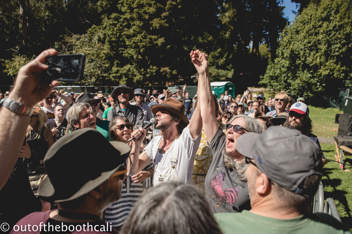 Langhorne Slim & The Lost At Last Band at Hardly Strictly Bluegrass 2018, by Ria Burman