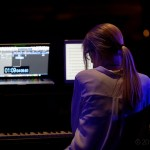 Kelly Moran at MUTEK.SF 2019 at the Herbst Theatre, by Jon Bauer